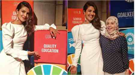 Priyanka Chopra wants to empower, educate and create opportunities for girls. See photos