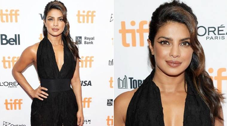 Priyanka Chopra stuns in black at Toronto International Film Festival 2017, see pics