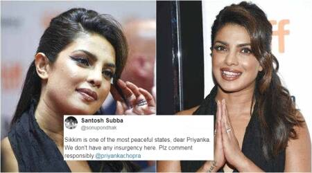 Priyanka Chopra trolled for saying Sikkim 'is troubled with insurgency'