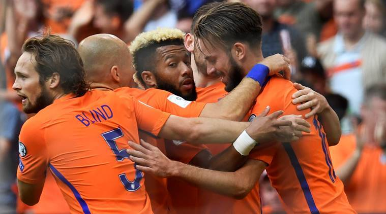 Davy Propper, Dutch World Cup, Arjen Robben, robben, netherlands, bulgaria, football, world cup qualifiers, sports news, indian express