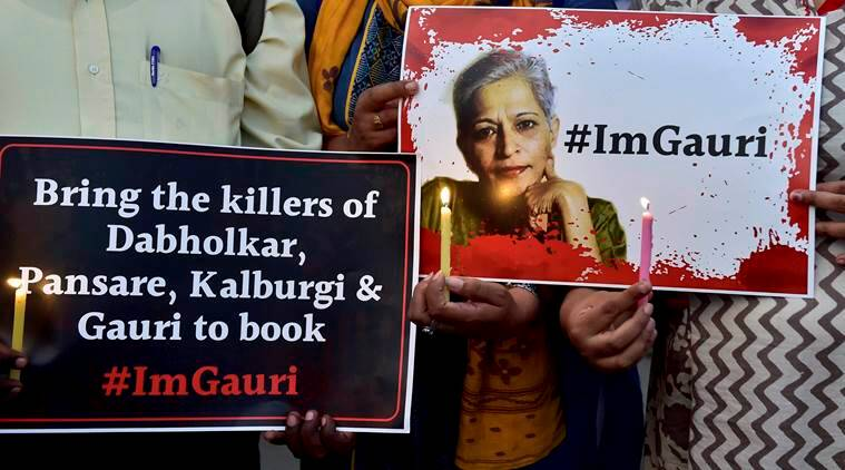 gauri lankesh, gauri lankesh murder, gauri lankesh killing, journalist gauri lankesh murder, journalist murder, Siddaramiah, protection to activists, lankesh patrike journalist murder, india news, indian express