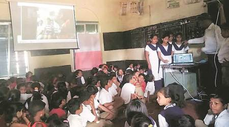 From Pune rural school classroom, a lesson in Marathi for NRI students in Australia