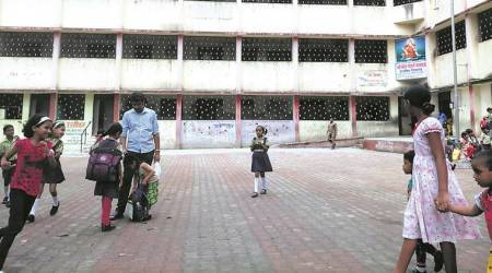As questions are raised about safety of students: PMC, PCMC schools caught napping: security guards missing, outsiders on campus, no woman attendants