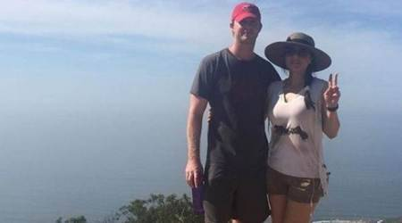 Preity Zinta is out to touch the clouds with her 'Pati Parmeshwar' in California