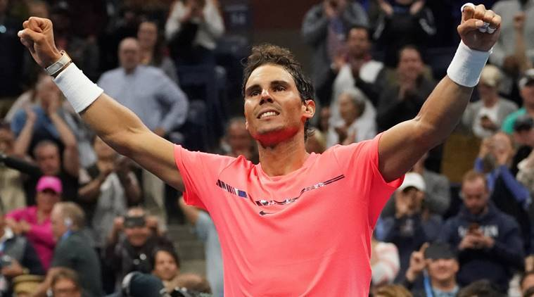 Rafael Nadal, US Open, US Open 2017, Leonardo Mayer, sports news, tennis, Indian Express