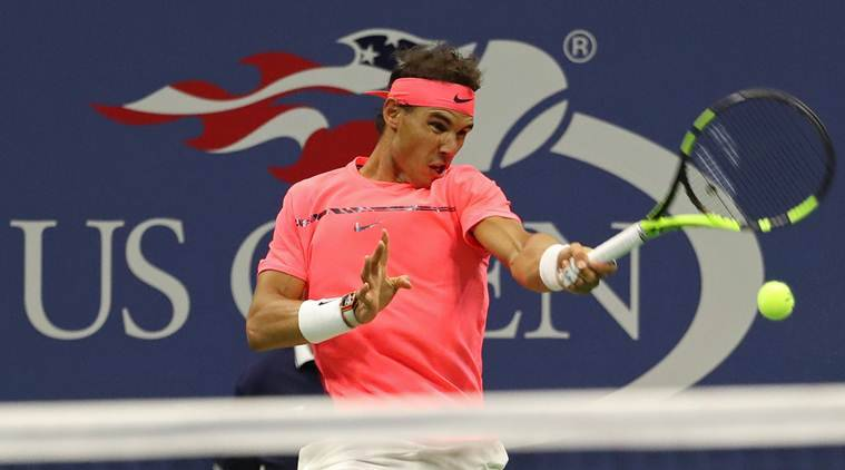 Us Open 2017 Rafael Nadal Schools Young Russian Andrey Rublev Awaits Roger Federer Sports News The Indian Express