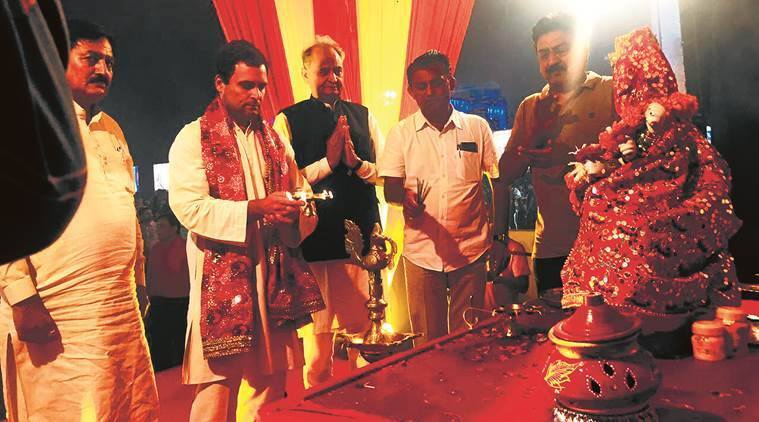 Eye on Patidar vote, Congress vice-president Rahul Gandhi picks temple visits carefully