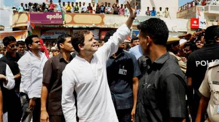 gujarat polls, congress campaign, Rahul gandhi, rahul gandhi saurashtra, Gujarat assembly polls