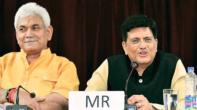 Piyush Goyal, General Electric, GE diesel locomotive factory, Railway Minister Piyush Goyal, Indian railways, indian express