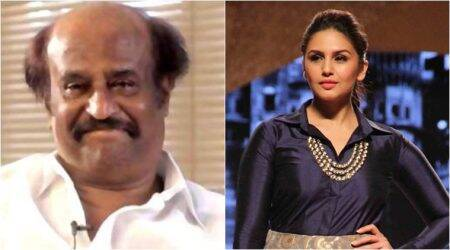 Huma Qureshi 'blessed' to work with Rajinikanth