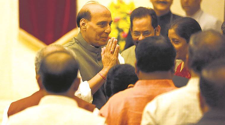 Rajnath Singh, Home Minister, BSF, Aircraft, Red tape, Aircraft grounded, India News, Indian Express