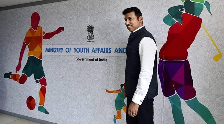 Rajyavardhan Singh Rathore, sports minister, sporst minister Rajyavardhan Singh Rathore, sports news, indian express