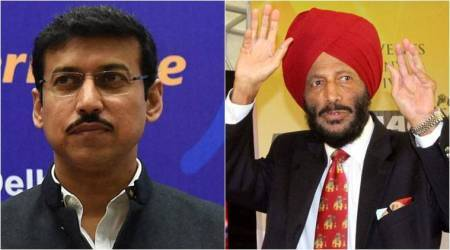 Rajyavardhan Singh Rathore knows what it takes to win medals at the highest level, says Milkha Singh
