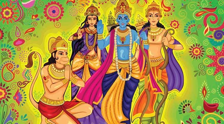ramayana, ramyana in urdu, urdu hindu texts, hindu epic in urdu, urdu translation ramayana