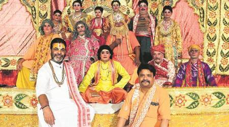 Mathura's Chaturvedi family has been taking Ramlila to different stages across country since six decades