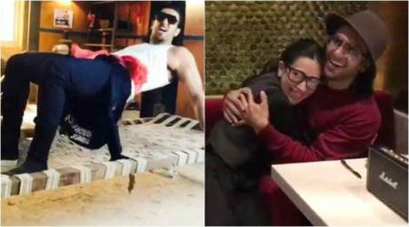 Watch: Karisma Kapoor finds Ranveer Singh's version of Sarkailo Khatiya cute