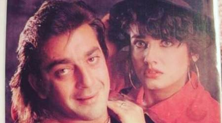 Throwback Thursday: Raveena Tandon shares a 90s picture with 'favourite actor' Sanjay Dutt