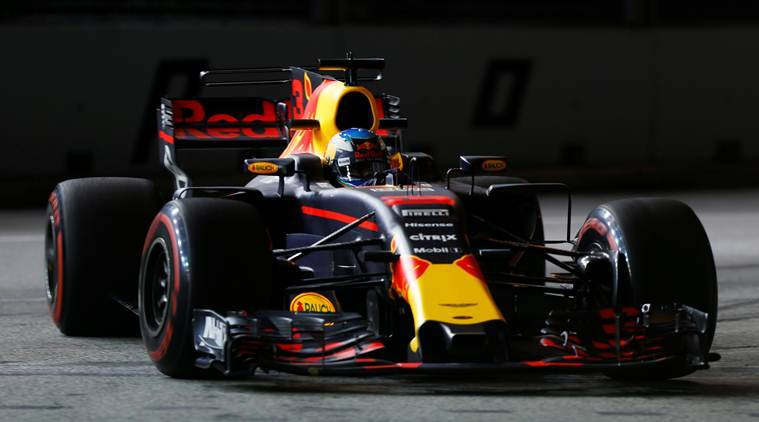 Watch F1 night race on TV, online