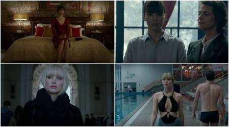 Watch Red Sparrow trailer: Jennifer Lawrence looks sharp, sensuous and solid