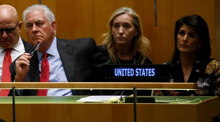 Rex tillerson, UNGA, united nations general assembly, nikki haley, nuclear missiles, north korea, world news