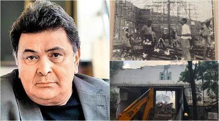 RK studios fire: Rishi Kapoor is all set to build a 'state-of-the-art' studio