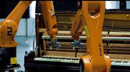 VIDEO: These 'talented' robots can give musicians a run for theirmoney