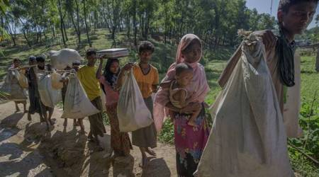 Rohingya crisis: Rights group accuses Myanmar of crimes against humanity in Rakhine