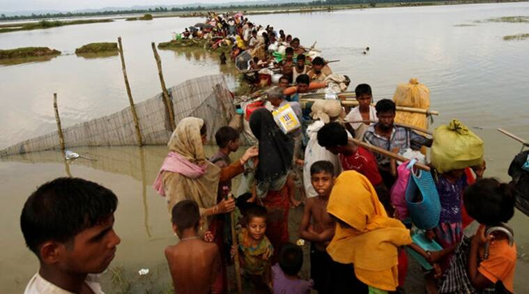 myanmar rohingya, myanmar china rohingya, myanmar china endorse rohingya, rohingya crackdown, rohingya muslims, rohingya displacement, rohingya china myanmar comments, indian express news