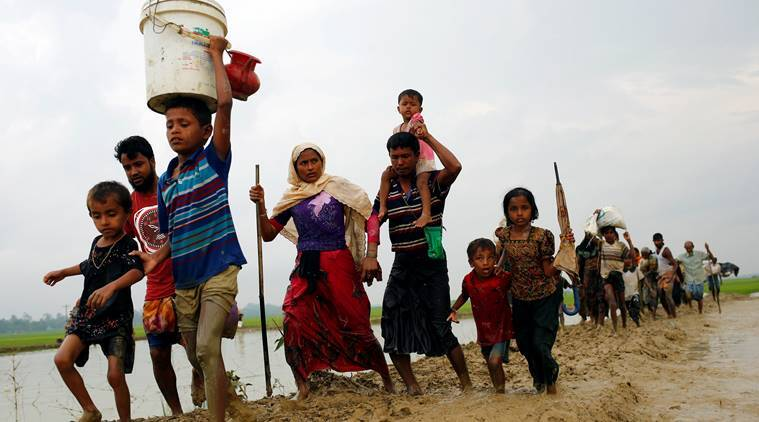 Rohingya, Rohingya Muslims, Bangladesh, Rohinghya Migrants, Myanmar, Rohingya refugees, Rohingya refugee crisis, Myanmar crisis, world news, indian express news