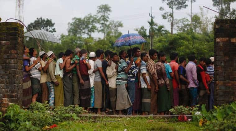 Rohingyas, Rohingyas muslim, dhaka Rohingyas, dhaka sos Rohingyas, delhi Rohingyas relief, myanmar border, bangladesh Rohingyas, indian express, india news
