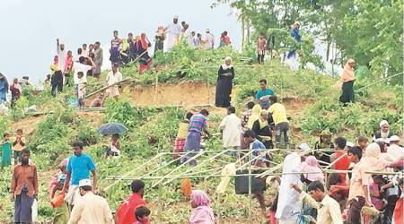 Rohingya crisis, Rohingya, Durga Puja, Bangladesh, Bangladesh Hindus, Bangladesh durga puja, Rohingya muslims, Rohingya people, Bangladesh,