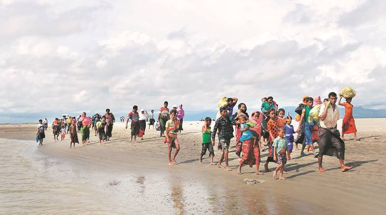 United Nations says 313000 Rohingya have fled to Bangladesh