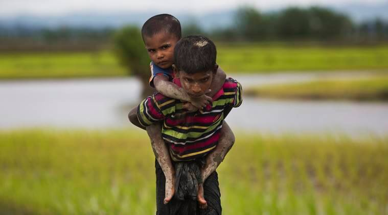 Rohingya, Rohingya children, UNICEF, UNICEF on Rohingya, Rohingya people, Rohingya refugee crisis, Myanmar exodus, Aung San Suu Kyi, World news, Indian Express