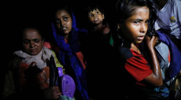 myanmar government, myanmar government access, international aid myanmar, access to rakhine, indian express news