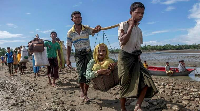 India sends relief materials for Rohingya refugees in Bangladesh