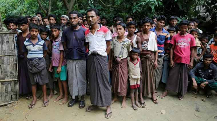 Rohingya crisis, Rohingya, Bangladesh, India, India Rohingyas, Rohingya muslims, Harsh Vardhan Shringla, Myanmar, India news, Indian epxress news