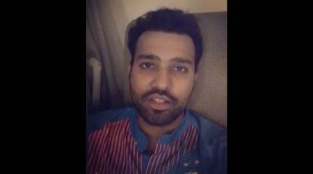 Rohit Sharma thanks fans for 'continued support' after Sri Lanka clean sweep, watch video