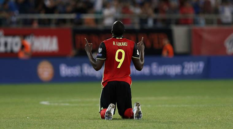 Romelu Lukaku, Belgium, 2018 World Cup, Belgium vs Greece, Football news, Indian Express