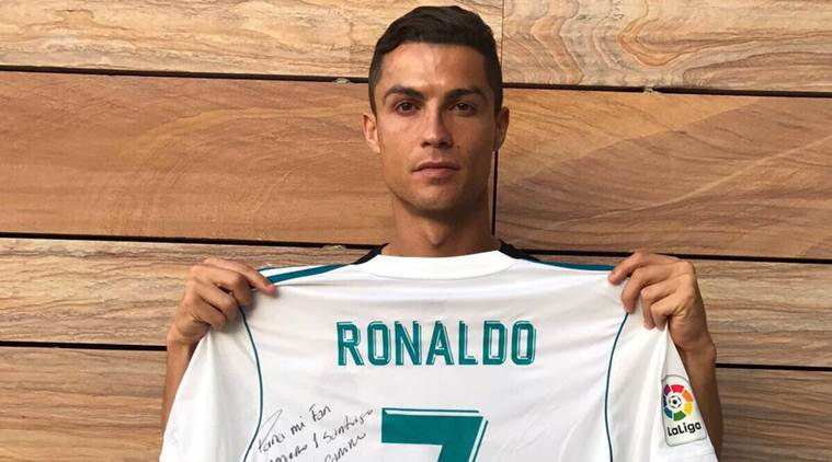 reputable site b1c3d 57f82 Cristiano Ronaldo sends solidarity message to family of boy ...