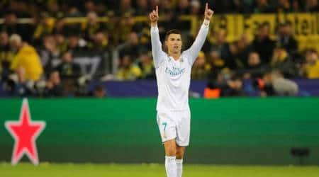 UEFA Champions League: Cristiano Ronaldo brace keeps Real Madrid at top; Tottenham Hotspur wintoo