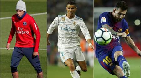 Neymar, Cristiano Ronaldo, Lionel Messi on FIFA best player shortlist