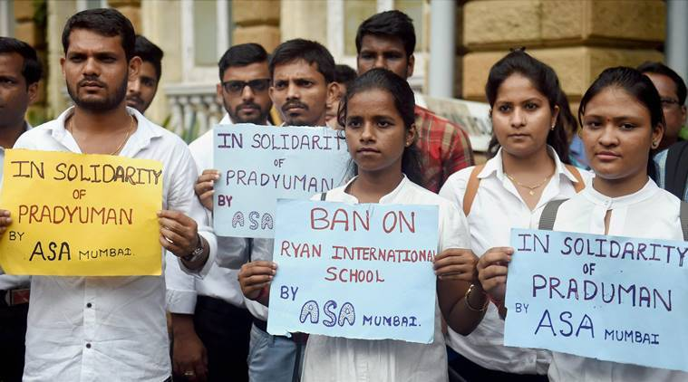 ryan school murder, ryan international school murder, gurugram school murder, bombay high court, ryan international school murder, augustine pinto, grace pinto, ryan pinto, pradyuman thakur,