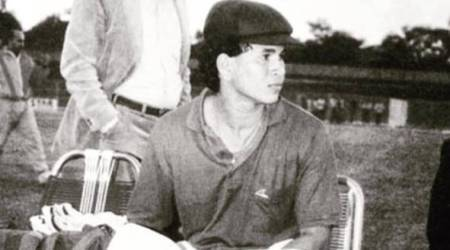 Sachin Tendulkar gets nostalgic with picture from early playing days