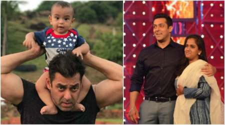 Salman Khan remembers the time when he carried sister Arpita on shoulder for Michael Jackson concert