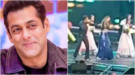 Watch: Salman Khan gets into his Chulbul Pandey avatar with Sonakshi Sinha at Da-Bangg Tour 2017