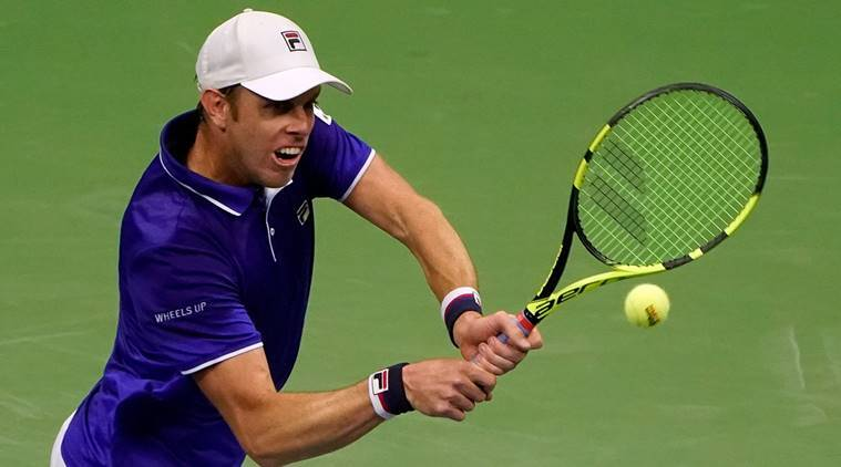 Sam Querrey, US Open 2017, Mischa Zverev, sports news, tennis, Indian Express