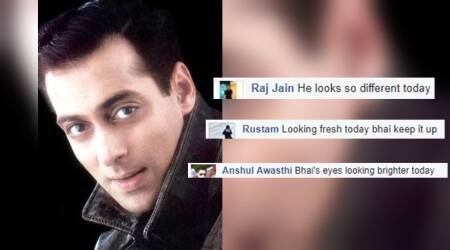 There's a Facebook page called 'Same photo of Salman Khan everyday' and the comments take the cake here