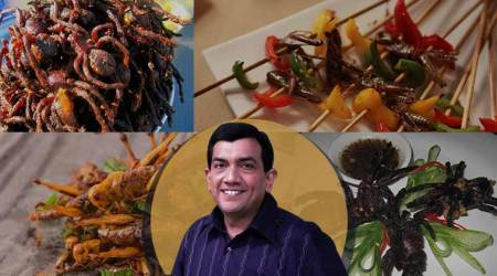 Sanjeev Kapoor will NOT shy away from trying a TARANTULA; here'swhy