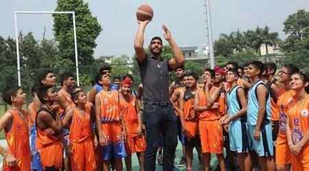 Satnam Singh Bhamara, Satnam Singh Bhamara India, satnam singh bhamara dope test, dope test fail, G League, Texas Legends, basketball news, Indian Express