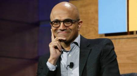 Satya Nadella, Microsoft CEO, Microsoft PC business, artificial intelligence, cloud software, quantum computing, Hit Refresh, Nadella personal struggles, Steve Ballmer, Brad Smith, Nokia phone acquisition Windows OS, augmented reality, futuristic computing